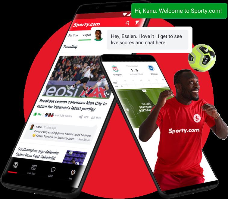 Sporty.com - Michael Essein & Kanu Nwankwo Chats